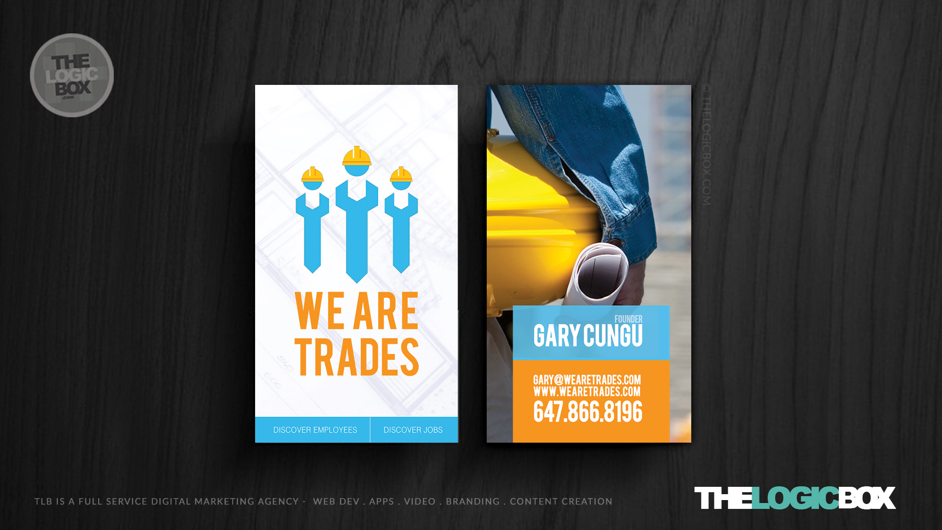 we-are-trades--business-card-design-the-logic-box-toronto-advertising-agency-presentation