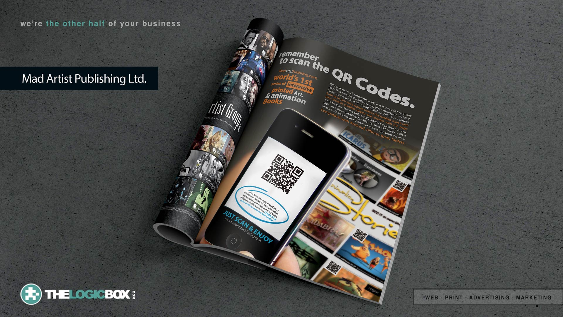 Mississauga Advertising - Oakville Web Design & Graphic Design  | The Logic Box