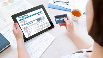 Why are online bill payments beneficial?